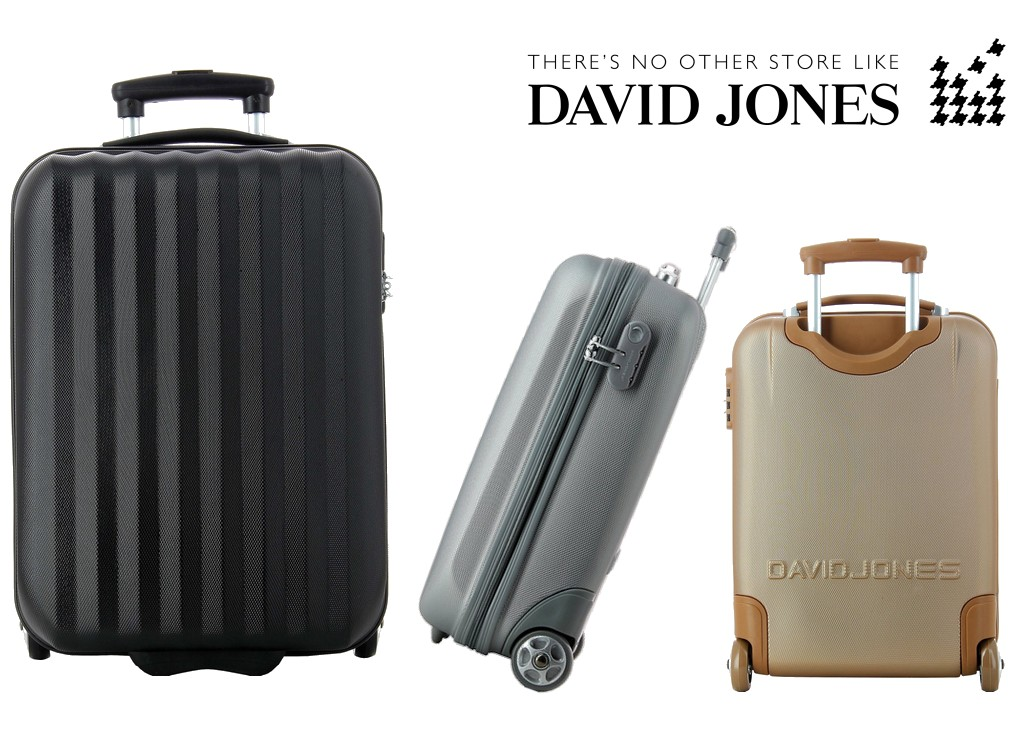 la valise cabine ryanair david jones le bagage cabine. Black Bedroom Furniture Sets. Home Design Ideas
